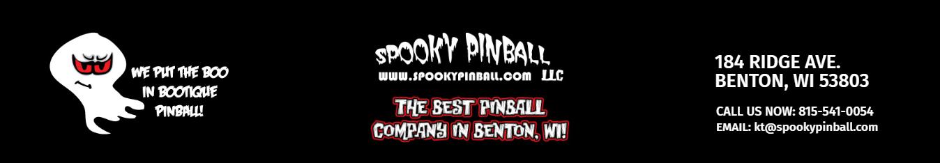 Spooky Pinball Logo